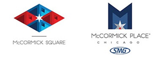 McCormick Square and McCormick Place new logos